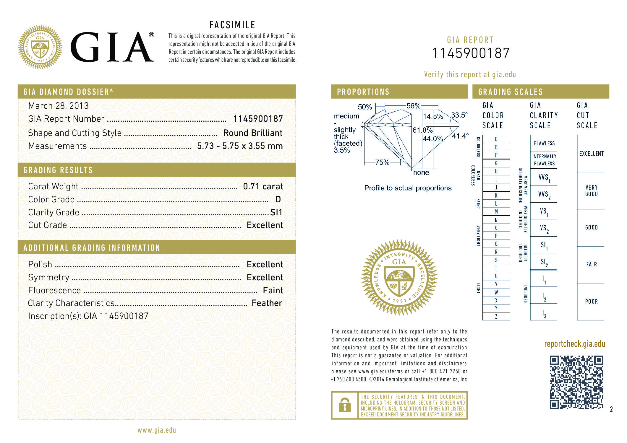 grading luxury certificate certified diamond page diamonds gia authentic